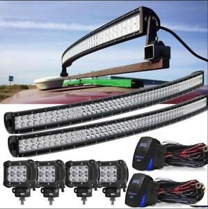 54 Inch Led Light Kit Head For Ford New Holland 2610 2810 2910 240 445 5030 5110