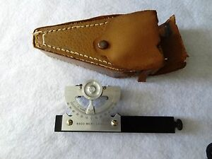 Vintage Surveying Equipment 800 Micro Level Case Japan