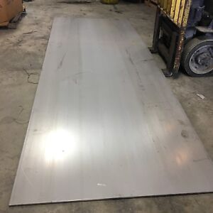 48 X 12 304 Ss Stainless Steel Sheet Plate Flat Stock 3 32 Thick