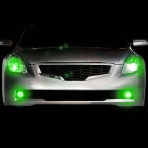 Plasmaglow 10652 Headlight Green Led Hideaway Strobe Light Kit