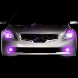 Plasmaglow 10654 Headlight Purple Led Hideaway Strobe Light Kit