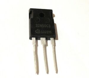 Spw32n50c3 To 247 N channel Mosfet Power Lot Of 5