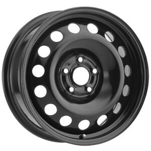 Vision Sw60 Steel Mod 14x5 5 4x100 38mm Black Wheel Rim 14 Inch