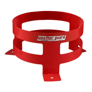 Weather Guard 9885 7 01 Bright Red 5 gallon Bucket Holder 6 25 X 11 25