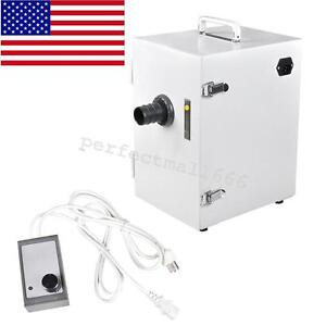Laboratory Dental Machine Digital Single row Dust Collector Vacuum Cleaner 370w