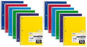 Mead Spiral Notebook College Ruled 1 Subject 24 pack