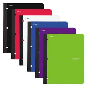 Five Star Bound Notebooks With Pocket 1 Subject College Ruled Paper 80