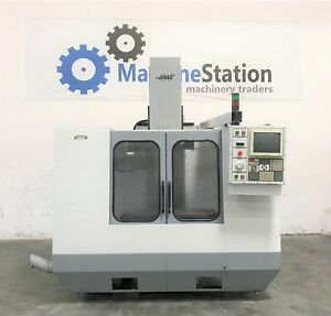 Haas Vf 2 Vertical Machining Center 4th Axis Gearhead 20hp Vf2 Cnc Mill 123