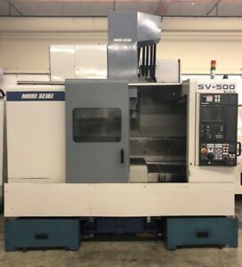 Mori Seiki Sv 500b 40 Cnc Vertical Machining Center 10000 Rpm 4020 Mill Fanuc