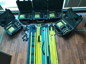 Topcon 5x Hiper With 4x Fc 100 Data Collector Free Ship