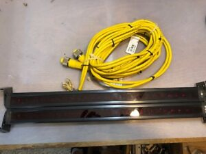 Banner Mini Array Light Curtain Safety Barrier Bmel1816a W Cables