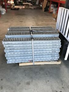 Lot Of 50 Roach Conveyors 6 Gravity Rollers 51 Long 212 Total