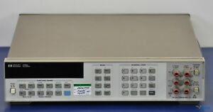 Hp keysight agilent 3458a 8 5 Digit Multimeter Nist Calibrated With Data