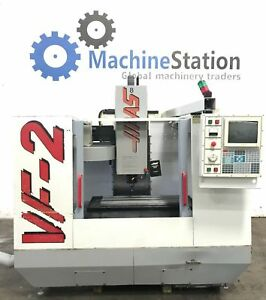 Haas Vf 2 Vertical Machining Center 4th Axis Ready Cnc Mill Vmc