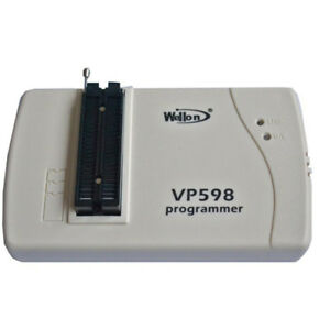 New 1pc Wellon Vp598 Vp 598 Eeprom Flash Mcu Programmer Usb