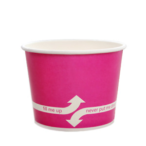 Karat 12oz Food Containers Pink 100mm 1 000 Ct C kdp12 pink