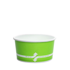 Karat 6oz Food Containers Green 96mm 1 000 Ct C kdp6 green