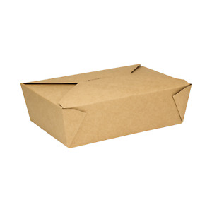 Karat 76oz Fold to go Box 3 Kraft 200 Ct Fp ftg76k