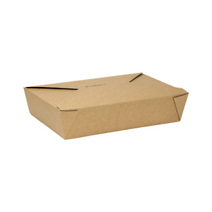 Karat 54oz Fold to go Box 2 Kraft 200 Ct Fp ftg54k