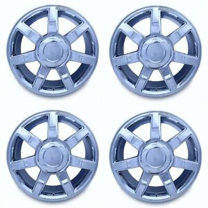 Set Of 4 22 Chrome Wheels For 07 2014 Cadillac Escalade Esv Ext Oem Quality 5309