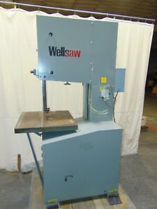 Industrial Wellsaw 20 X 16 Metal Vertical Band Saw V 20 Variable Speed