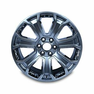 Single New 22 Chevy Silverado Suburban Gmc Sierra Yukon Alloy Wheel Rim 5660