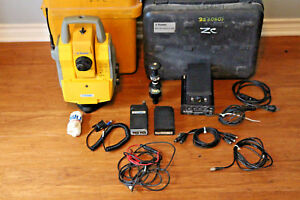 Trimble 5603 Dr200 3 Robotic Survey Total Station 5600 W Georadio 604 Prism