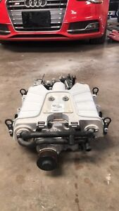 10 17 Audi S5 S4 B8 Supercharger 3 0 Engine And Manifold Assembly