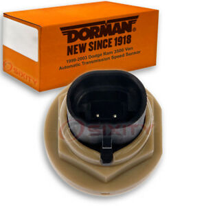 Dorman Output Transmission Speed Sensor For Dodge Ram 3500 Van 1999 2003 Rv