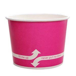 Karat 16oz Food Containers Pink 112mm 1 000 Ct
