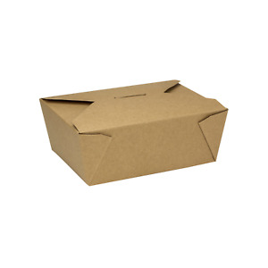 Karat 48oz Fold to go Box 8 Kraft 300 Ct Fp ftg48k