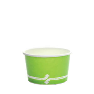 Karat 4oz Food Containers Green 76mm 1 000 Ct C kdp4 green