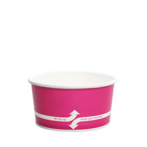 Karat 6oz Food Containers Pink 96mm 1 000 Ct C kdp6 pink