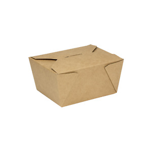 Karat 30oz Fold to go Box 1 Kraft 450 Ct Fp ftg30k