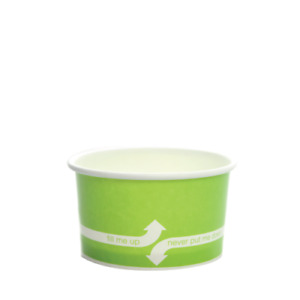 Karat 5oz Food Containers Green 87mm 1 000 Ct C kdp5 green