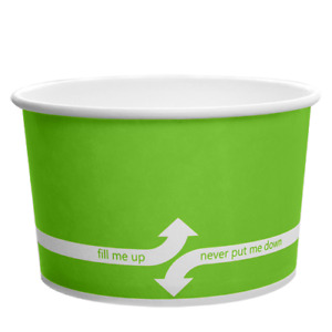 Karat 20oz Food Containers Green 127mm 600 Ct C kdp20 green