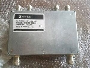 Ge Reuter Stokes Model Rs fsm 1002 001 Flame Sensor Module New Without Box