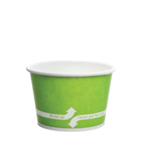 Karat 8oz Food Containers Green 95mm 1 000 Ct C kdp8 green
