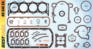 New 1961 1962 1963 Oldsmobile Cutlass F 85 V8 215 Full Engine Gasket Set