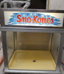 Commercial Ice Shaver Machine Gold Medal 1002s Deluxe Sno konette