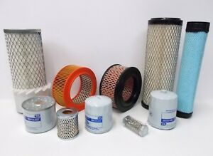 Service Filters Kits Air Fuel Oil For Lister Petter Tr1 Ts1 Engines