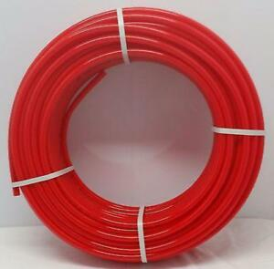 Certified Non Barrier 1 2 300 Coil Red Pex Tubing Htg plbg potable Water