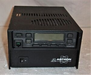Kenwood Tk 706h With Astron Corp Ss 18 Switching Power Supply 13 8 Volts