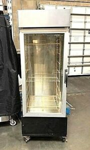 Heated Pizza Holding Cabinet Hatco Pfst 1x Commercial Glass Warming Merchandiser
