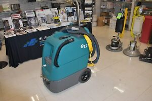 Tennant Q12 Multi surface Cleaning Machine Carpet Wand Included
