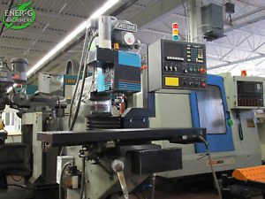 Alliant 3 axis Cnc Vertical Milling Machine Model Rt2 Id M 049