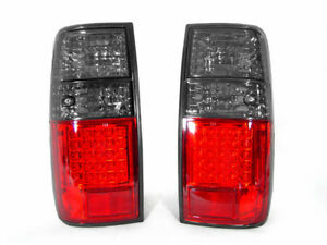 Depo Red Smoke Rear Led Tail Lights Pair For 1991 1997 Toyota Land Cruiser Fj80