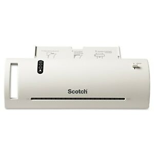 Scotch Thermal Laminator Value Pack 9 inch W With 20 Letter Size Pouches
