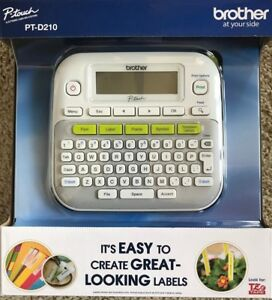 Brother Pt d210 P touch Label Maker