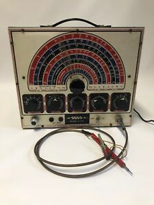 Vintage Approved Electronic Instrument Corp Aei Model A 200 Signal Generator